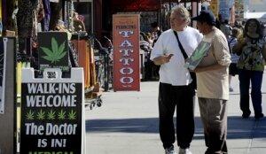 Калифорния запретила продажу марихуаны в медицинских целях