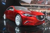 Компания Mazda представила новую модель Mazda Takeri