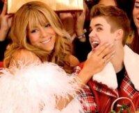 Мэрайя Кэри соблазнила Джастина Бибера на съемках клипа