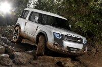 Компания Land Rover презентует концепт автомобиля DC100