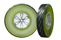 Bridgestone создала шины, которые не нужно надувать