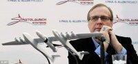 Пол Аллен презентует самолет, который к 2016 году будет запускать ракеты