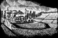 Леди Гага нарисовала сцену с местами для монстров