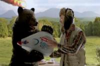 Tipp-Ex опять рекламируют медведь и охотник