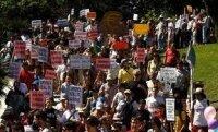 Неутихающие протесты в Испании