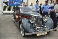 Гонка ретро-автомобилей во Львове