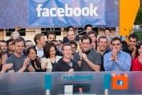 Акции Facebook упали за день на 11%