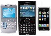 Через 3 года число смартфонов перешагнет отметку в 1 миллиард