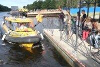 За движением водных такси Петербурга можно следить в онлайне