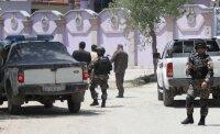 Полиция освободила 18 заложников, которых захватили боевики в пригороде Кабула