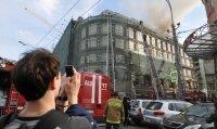 В элитном комплексе в центре Москвы потушен пожар