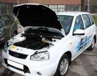 Началось производство Lada Kalina с электрическим мотором