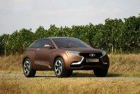 «АвтоВАЗ» представил концепт инновационного внедорожника Lada XRay