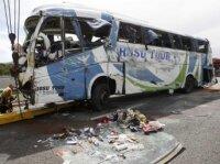 Во Франции перевернулся автобус с румынскими пассажирами