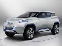 Nissan представит на Парижском автосалоне кроссовер TeRRA