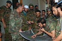 Сирийские повстанцы не сдают позиции на севере страны