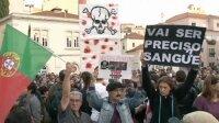 Португальцы протестуют против радикального увеличения налогов
