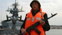 Единственный корабль ВМФ,который обеспечивает испытания ракет, вышел в море