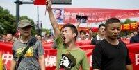 Китайцы протестуют против сооружения нового химического завода