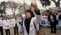 Испанцы протестуют против приватизации медицинских учреждений