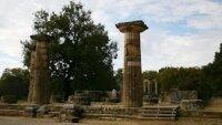 В музей в Олимпии вернули украденное