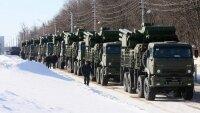 Военная техника ЦВО переведена на зимний период эксплуатации