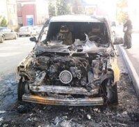Азербайджанец ради спора сжег «Range Rover» стоимостью 120 тысяч евро