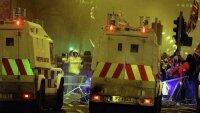 Полицейские пострадали в столкновениях с демонстрантами в Белфасте