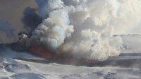 Пепловое облако от вулкана Толбачик не угрожает местным жителям