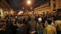 Неизвестные напали на палаточный городок противников Мурси