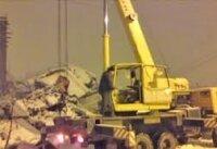 В Таганроге обрушился недостроенный трехэтажный дом