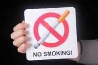 """Знак """"NO SMOKING"""" - как украшение для пиццы"""