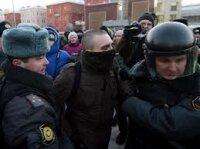 """Полиция разогнала оппозиционный """"Марш свободы"""""""