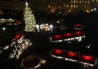 В Ватикане зажглась рождественская елка