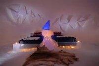 В Норвегии построили отель из снега