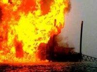Фейерверк вызвал пожар в Нигерии