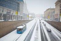 На Москву идет сильный циклон