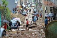 Тысячи жителей Рио-де-Жанейро пострадали от наводнения