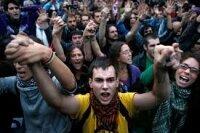 Жители Мадрида разделяют забастовки транспортников