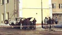 Иномарка врезалась в дерево в Воронеже