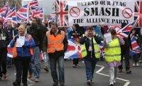 Белфаст: британский флаг как яблоко раздора