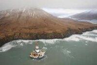 Буровую установку Kulluk сняли с мели на Аляске