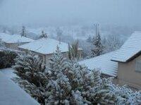 Иерусалим покрыт снегом
