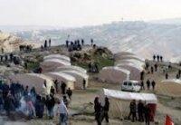 Израиль разогнал лагерь палестинцев на Западном берегу