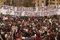 Египет: нападение на участников протестов в Каире