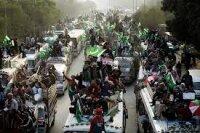 Начало мирной революции в Исламабаде