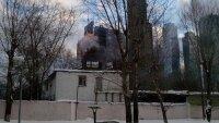 """В одном из зданий """"Москва-Сити"""" вспыхнул пожар"""