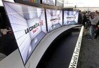 Изогнутые телевизоры появятся уже в этом году