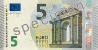 В Европе будет введена новая купюра стоимостью в 5 евро