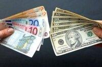 В Украине доллар растет, а евро падает
